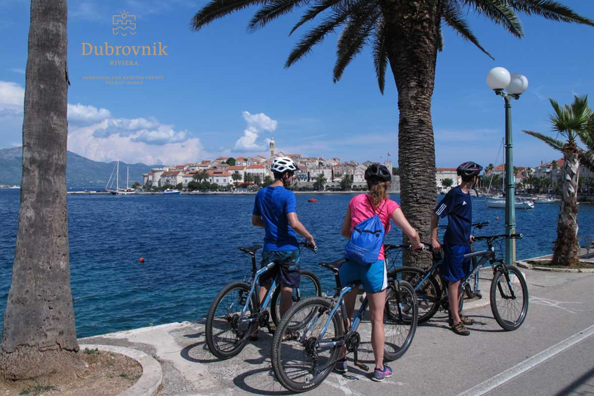 Korcula outdoor activities, cycling - Island Korcula